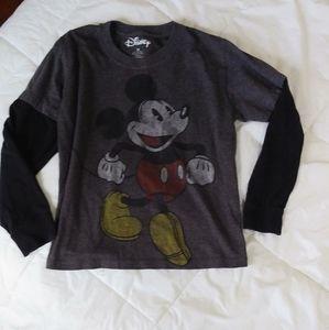 Disney Mickey Mouse Long Sleeve Shirt